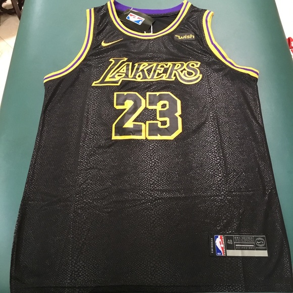 big sale 1050c 8af67 Anthony Davis Lakers NBA Jersey NWT